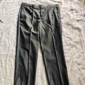 Banana Republic Metallic/Dark Grey/ Women's Pants